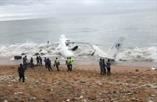Cote d'Ivoire: Máy bay gặp nạn rơi xuống đầm khiến 2 người thiệt mạng