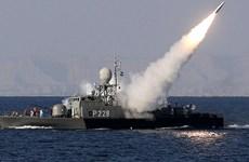 Hơn 50 tàu chiến Iran tập trận quy mô lớn tại Eo biển Hormuz