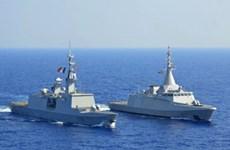 Ai Cập tập trận hải quân chung với Anh, Pháp trên Địa Trung Hải