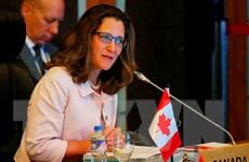 Ngoại trưởng Mỹ và Canada điện đàm về căng thẳng giữa Riyadh-Ottawa