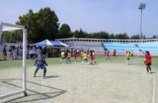 Sôi nổi Đại hội thể dục thể thao sinh viên Việt Nam tại Hàn Quốc