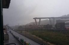 Italy: Sập cầu cạn trên cao tốc, nhiều ôtô rơi vào khoảng không
