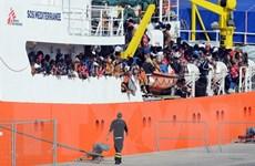 5 nước châu Âu sẽ tiếp nhận người di cư trên tàu cứu hộ Aquarius