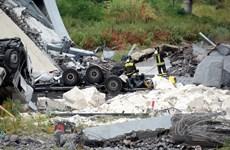 Vụ sập cầu cạn tại Italy: Số nạn nhân thương vong tiếp tục tăng