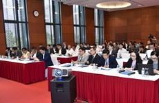 Các đoàn tiền trạm Hội nghị WEF ASEAN 2018 làm việc tại Hà Nội