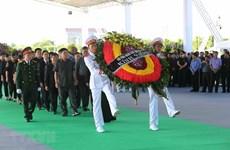 [Video] Lễ tang Chủ tịch nước Trần Đại Quang tại quê hương Ninh Bình