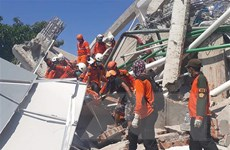 Indonesia: Chạy đua với thời gian tìm người mất tích sau động đất