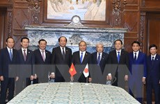 'Nhật Bản sẵn sàng hợp tác vì sự phát triển bền vững của Việt Nam'