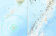 Khu vực gần quần đảo Kuril của Nga rung chuyển vì động đất 6,7 độ