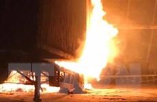 Vụ cháy xưởng gỗ tại Đồng Nai: Hàng chục tỷ đồng bị thiêu thành tro