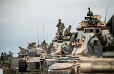 Thổ Nhĩ Kỳ tiến hành một chiến dịch quân sự 'phá hủy' ở miền Bắc Syria