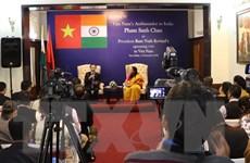 ĐSQ Việt Nam họp báo trước thềm chuyến thăm của Tổng thống Ấn Độ