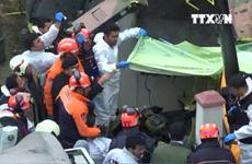 [Video] Rơi trực thăng quân sự tại Thổ Nhĩ Kỳ, 5 binh sỹ thương vong