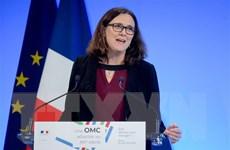 EU hối thúc Mỹ bắt đầu tiến trình đối thoại về cải cách WTO