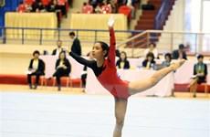 40 VĐV tranh tài môn thể dục dụng cụ tại Đại hội Thể thao toàn quốc