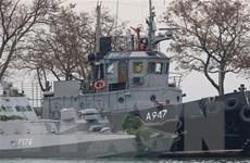 Phái bộ ngoại giao Nga ở Ukraine bị tấn công sau vụ bắt tàu hải quân