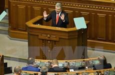Căng thẳng Nga-Ukraine: Kiev ban bố tình trạng chiến tranh