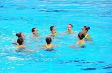 Bơi nghệ thuật Việt Nam giành 3 huy chương tại Singapore
