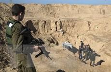 Israel vô hiệu hóa đường hầm xâm nhập lãnh thổ từ Liban