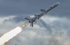 Ukraine phóng thử thành công tên lửa hành trình Neptun đời mới
