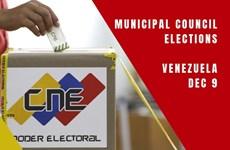 Venezuela triển khai hàng trăm nghìn cảnh sát bảo vệ an ninh bầu cử