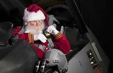 [Video] Mỹ huy động nhiều khí tài hiện đại theo dõi Ông già Noel