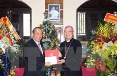 Phó Thủ tướng Trương Hòa Bình thăm, chúc mừng Giáng sinh tại Đà Nẵng