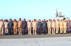 Binh sỹ 6 quốc gia tham gia tập trận hải quân chung ở Biển Đỏ