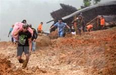 Số người thiệt mạng do lở đất tại Indonesia và Philippines tăng mạnh