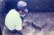 Việt Nam phát hiện kiểu mộ táng chum gỗ trống đồng cách đây 2.000 năm