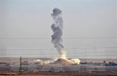 Liên quân quốc tế dội pháo vào khu vực IS chiếm đóng ở Đông Syria
