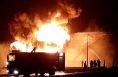 Yemen: Nổ lớn làm rung chuyển khu nhà máy lọc dầu ở Aden