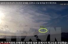 Hàn Quốc-Nhật Bản đàm phàn về sự cố khóa mục tiêu radar trên biển