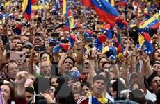 [Video] Venezuela: Biểu tình khắp các đường phố ở thủ đô Caracas