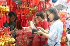 Người Việt Nam ở Jakarta rộn ràng sắm Tết ở khu chợ Kota Tua