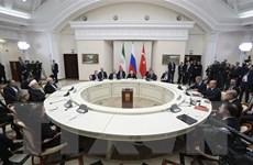 """Nhóm """"Bộ ba"""" Astana và xung lực cho tiến trình hòa bình Syria"""