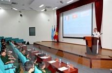 Đội Công binh Việt Nam chuẩn bị tham gia gìn giữ hòa bình LHQ