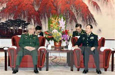 Thúc đẩy hoạt động giao lưu cấp cao quân đội Việt Nam-Trung Quốc
