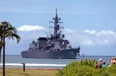 Nhật Bản không tham gia tập trận ở ngoài khơi Bán đảo Triều Tiên