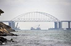 Nga không để Ukraine tiếp tục 'hành vi khiêu khích' trên eo biển Kerch