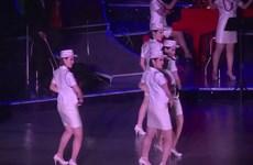 [Video] Màn trình diễn hiện đại của nhóm nhạc nữ Triều Tiên Moranbong