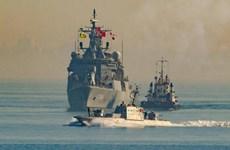 Hải quân Ukraine-Thổ Nhĩ Kỳ tập trận chung ngoài khơi bờ biển Odessa
