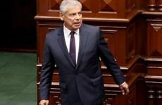 Thủ tướng Cesar Villanueva của Peru đệ đơn từ chức
