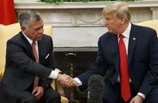 Quốc vương Jordan thăm Mỹ thảo luận về tình hình Trung Đông