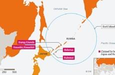 500 binh sỹ Nga tập trận tại quần đảo tranh chấp với Nhật Bản