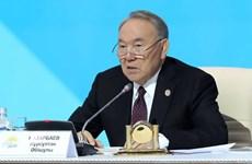 Tổng thống Kazakhstan Nursultan Nazarbayev bất ngờ tuyên bố từ chức