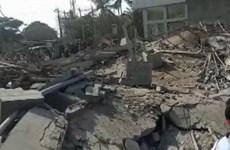 Sập nhà ở Ấn Độ, 6 người thương vong, gần 40 người mắc kẹt