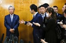 Chủ tịch Ủy ban Olympic Nhật Bản thông báo quyết định từ chức