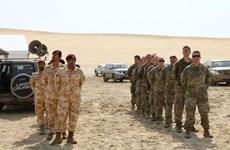 Binh sỹ Mỹ và Qatar bắt đầu đợt huấn luyện quân sự chung