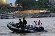 Kết thúc đợt tuần tra chung lần thứ 80 giữa 4 nước trên sông Mekong